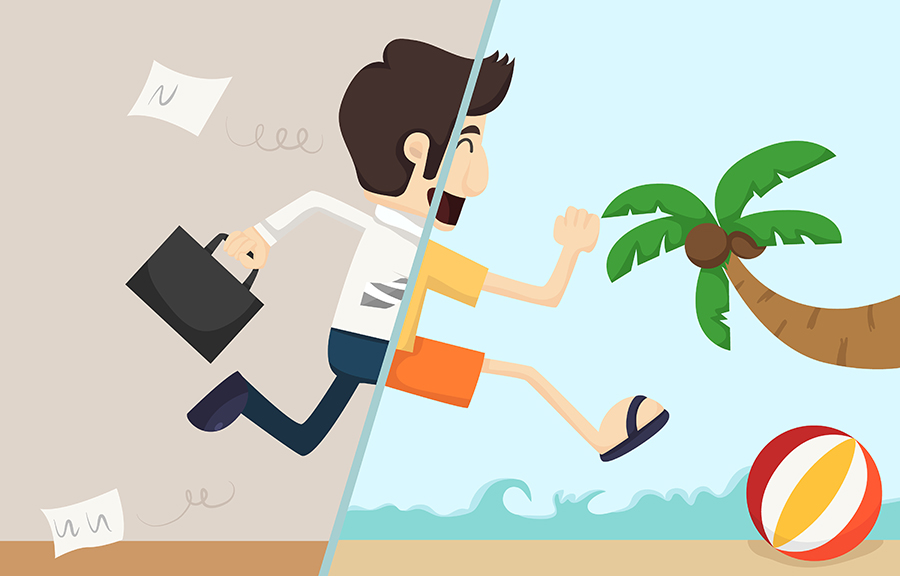 4 razones para tomar vacaciones del trabajo